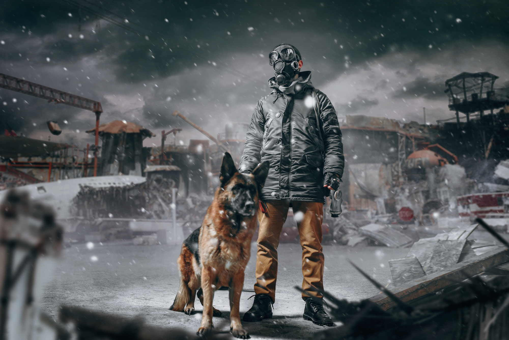 post apocalyptic world prepper